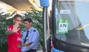 Perú vs. Brasil: 'Bicolor' parte rumbo a entrenamiento en campo del Fluminense