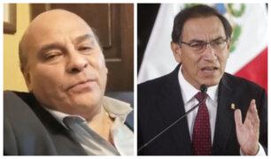 César Campos: Gobierno nos pretende entretener pechando otra vez al Legislativo