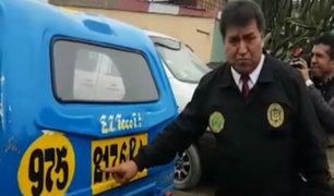 VES: capturan a 'raqueteros' que asaltaban en mototaxis
