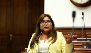 Fiscal Alioshka descarta persecución política contra Betty Ananculi