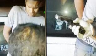 Comas: detienen a dos sujetos que asaltaron a un suboficial PNP