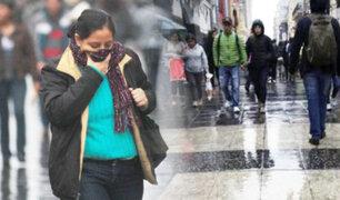 Senamhi: llovizna y humedad aumentarán sensación de frío en Lima