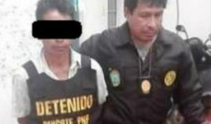 Junín: capturan a requisitoriado por terrorismo en Chanchamayo