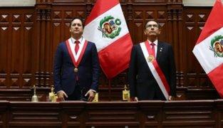 Salaverry tras reunión con Vizcarra: Reafirmamos apoyo a las reformas políticas