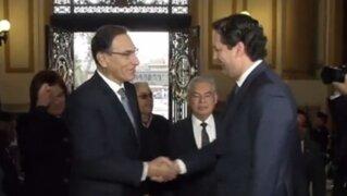 Reacciones de los congresistas tras reunión de Vizcarra y Salaverry
