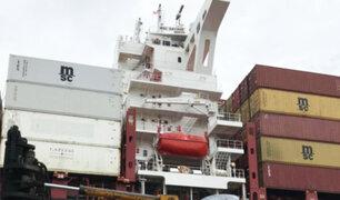 EEUU: incautan 16 toneladas de cocaína en buque que hizo escala en Perú