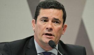 Brasil: Sergio Moro compareció ante el senado por conversaciones de Lava Jato