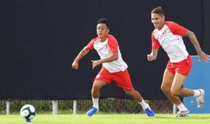Así fue el entrenamiento de la Bicolor antes de viajar a Sao Paulo