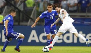 Argentina vs. Paraguay: la albiceleste empató 1-1 en Belo Horizonte