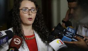 """Rosa Bartra: """"la reforma constitucional es potestad exclusiva y excluyente del Congreso"""""""