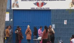 Madres de familia de Los Olivos denuncian los constantes asaltos a escolares
