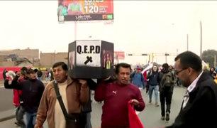 Puente Piedra: vecinos protestan contra peajes de la Panamericana Norte