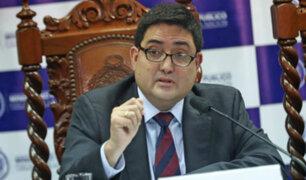 Procurador sobre Odebrecht: así se cambie de nombre pagará reparación civil