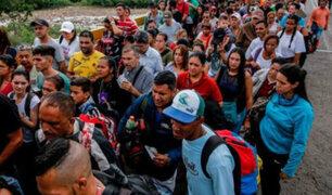 INEI: el 94.7% de migrantes venezolanos se quiere quedar en Perú
