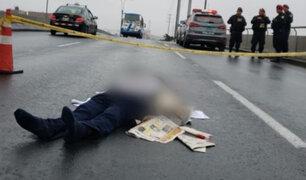 Captan momento exacto en el que delincuentes roban camión y asesinan a copiloto