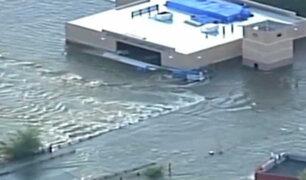 Estados Unidos: fuertes lluvias causan inundaciones en New Jersey y Filadelfia