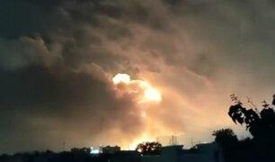 EEUU: estalla incendio en refinería de Philadelphia