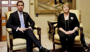 Venezuela: Bachelet se reunión con presidente  encargado Juan Guaidó