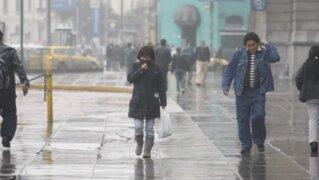 Senamhi: frío aún se mantiene en Lima durante mañana y tarde