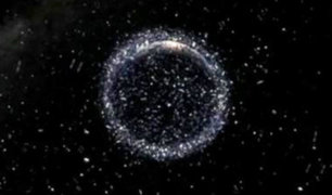 EEUU: basura espacial pone en peligro satélites y la Estación Espacial Internacional