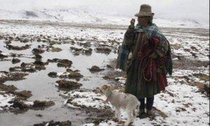 Sierra sur del Perú soportará temperaturas de hasta 22 grados bajo cero
