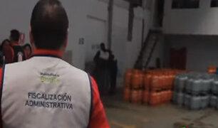Breña: clausuran distribuidora de gas que operaba también como taller de soldadura
