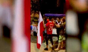 Río de Janeiro: hinchas chilenos se enfrentan a peruanos