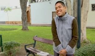 Miraflores: Hombre que rescató a joven con esquizofrenia le ofreció ayuda médica