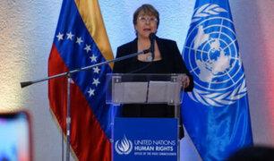 Bachelet: Nuevas sanciones de EE.UU para Venezuela pueden tener un impacto severo