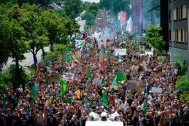 Masivas protestas contra el cambio climático se realizaron en Alemania