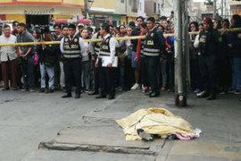 Sicarios asesinan a balazos a joven en loza deportiva de San Martín de Porres