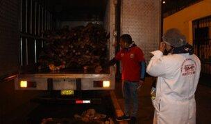 Incautan más de cuatro toneladas de carne de caballo en mercados de SMP