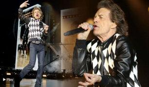 Mick Jagger volvió a los escenarios tras una operación al corazón