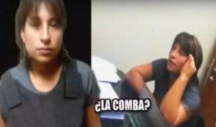 Surco: capturan a mujer que participó en dos millonarios robos
