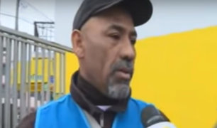 Gamarra: agente de seguridad asegura que policía permitió ingreso de taxis ilegales