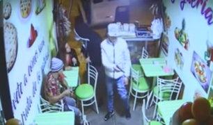 Los Olivos: cámaras de seguridad captan robo en juguería