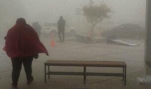 Viento y llovizna aumentará desde hoy hasta el martes 25 en la costa sur