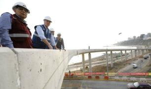 Viaducto Arméndariz: Jorge Muñoz asegura que obra será entregada este miércoles