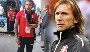 Selección Peruana suspendió entrenamiento y jugadores tuvieron una mañana libre