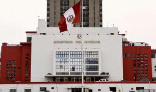 Depincri de Miraflores: Mininter anuncia remoción del oficial encargado tras fuga