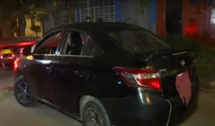 La Victoria: delincuentes de autopartes son capturados tras intensa persecución