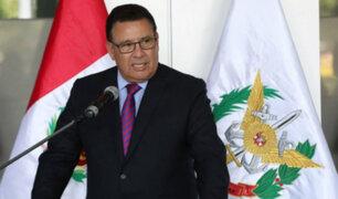 José Huerta: ministro de Defensa fallece tras sufrir un infarto