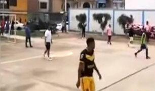 Callao: balacera en torneo de fútbol dejó un herido