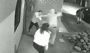 Chincha: ladrones asaltan a pareja en la puerta de su casa