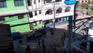 Enfrentamientos entre sindicatos por obras en el hospital de Huaraz deja dos heridos