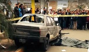 Independencia: hombre atropellado en balacera tenía antecedentes policiales