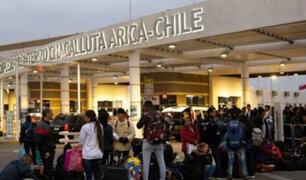 Venezolanos en frontera con Chile tendrían que volver a Tacna para tramitar visa
