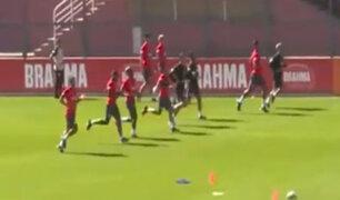 Cuartos de final: Perú volvió a los entrenamientos en Sao Paulo
