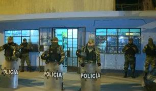 Mala: capturan a 18 miembros de organización criminal dedicada al tráfico de terrenos