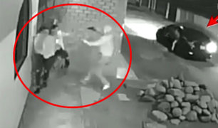 Así fue el robo a una pareja en la puerta de su vivienda en Chincha